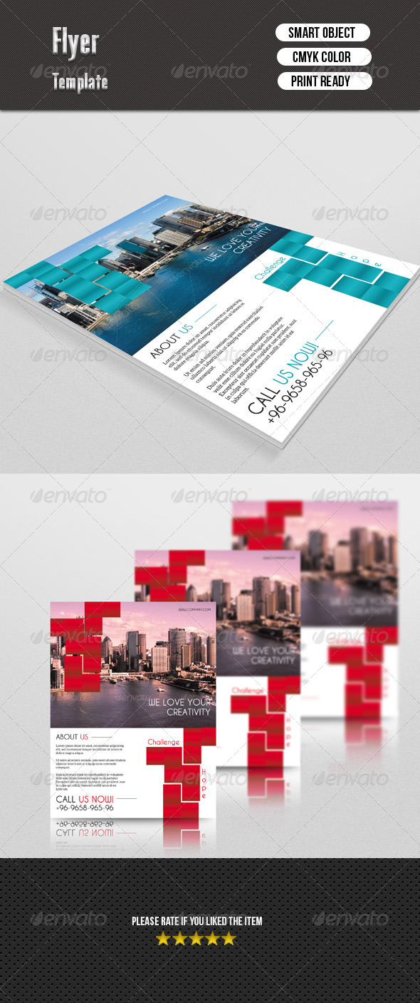 GraphicRiver Corporate Flyer 7564378