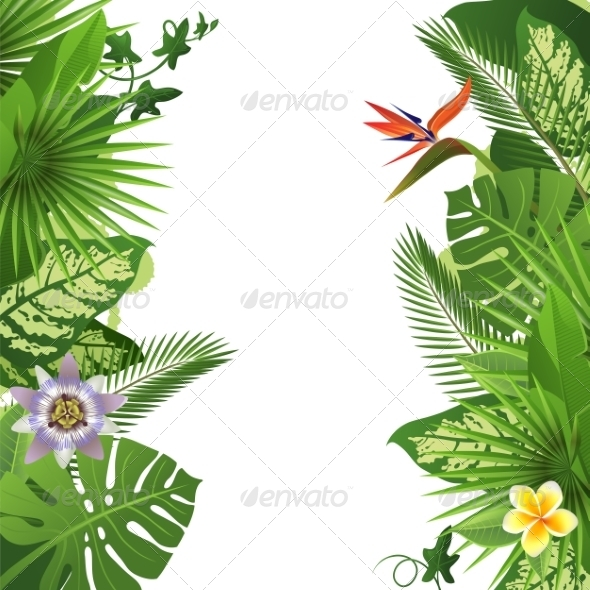 GraphicRiver Tropical Background 7565064