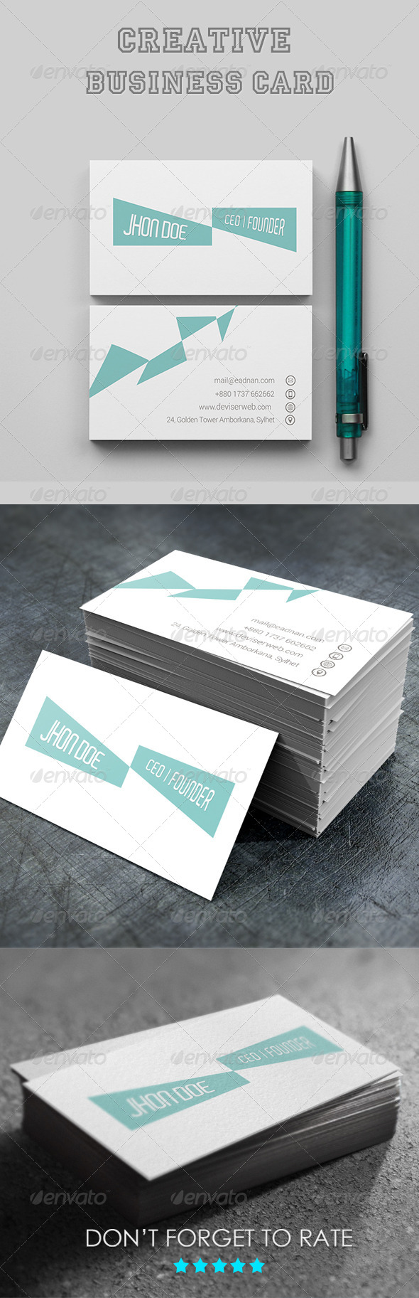 GraphicRiver Creative Business Card 7565753