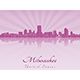 Milwaukee Skyline - GraphicRiver Item for Sale