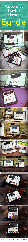 GraphicRiver Responsive Device Mockup BUNDLE 7567726