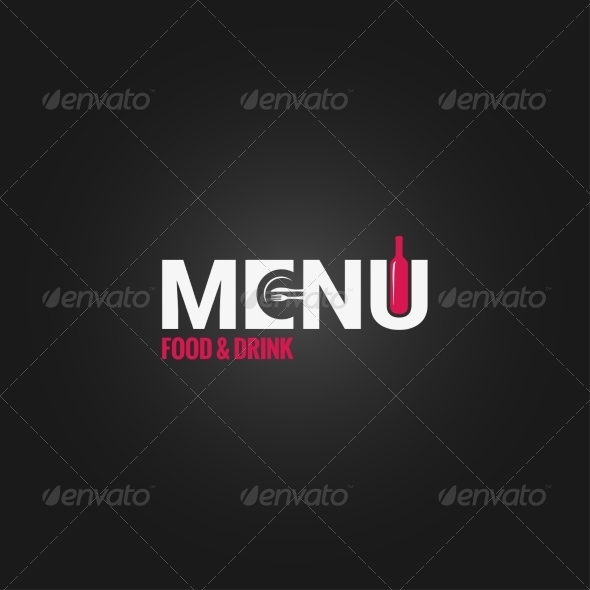 GraphicRiver Restaurant Menu Wine Design Background 7568274