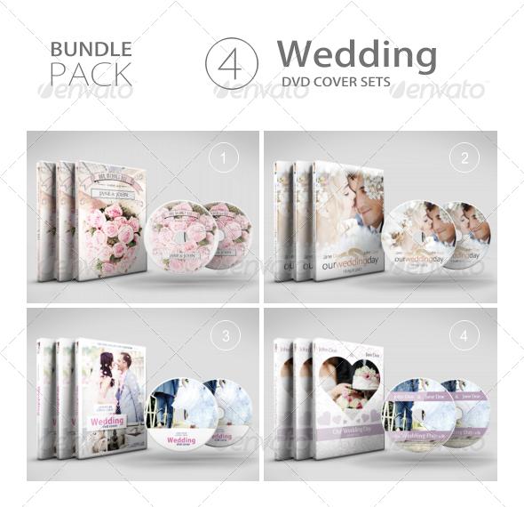 GraphicRiver Wedding DVD Bundle 7568684