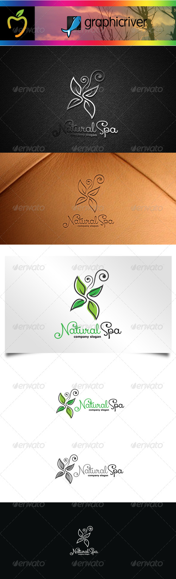 GraphicRiver Spa Logo 7569205
