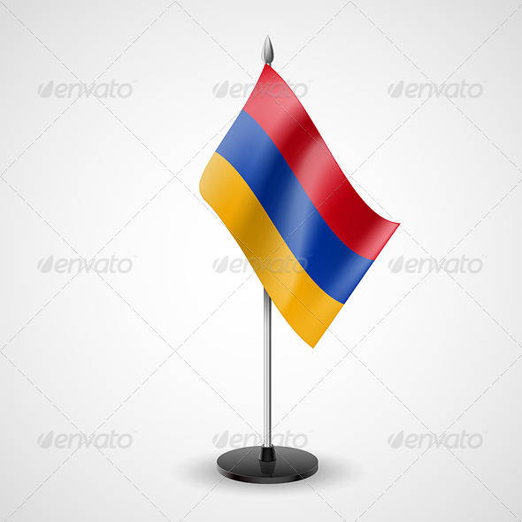 GraphicRiver Table Flag of Armenia 7569220
