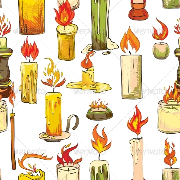 GraphicRiver Candle Pattern 7569812
