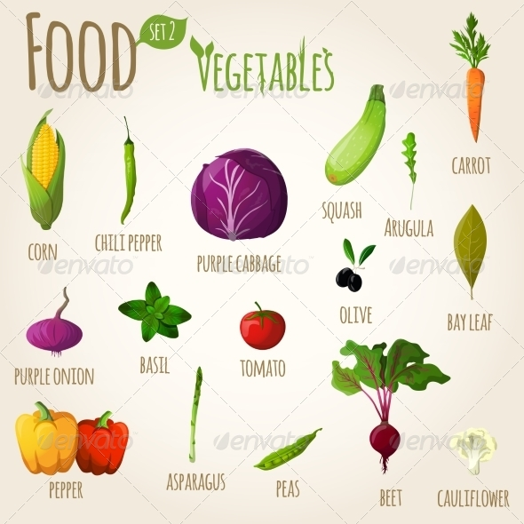 GraphicRiver Vegetables 7569838