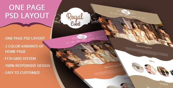 ThemeForest Royal Event 7489187