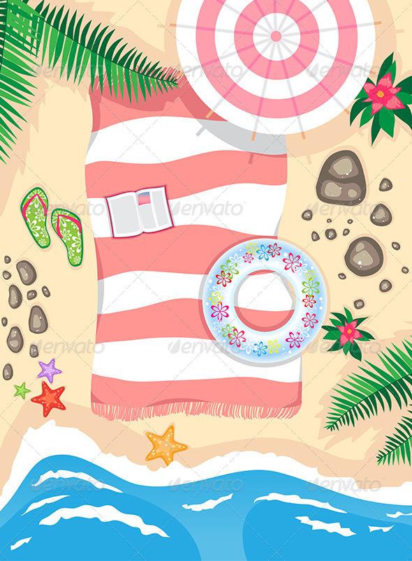 GraphicRiver On the Beach 7570276