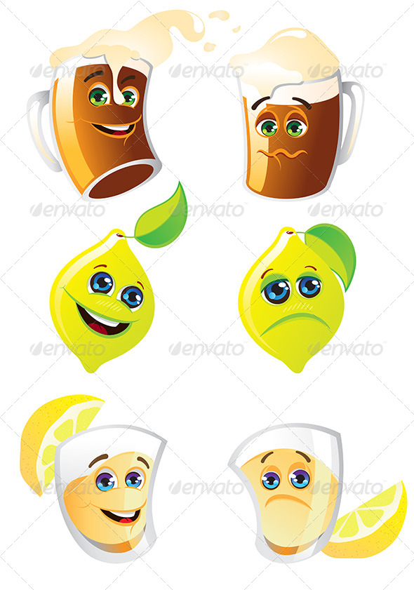 GraphicRiver Drinks 7570840