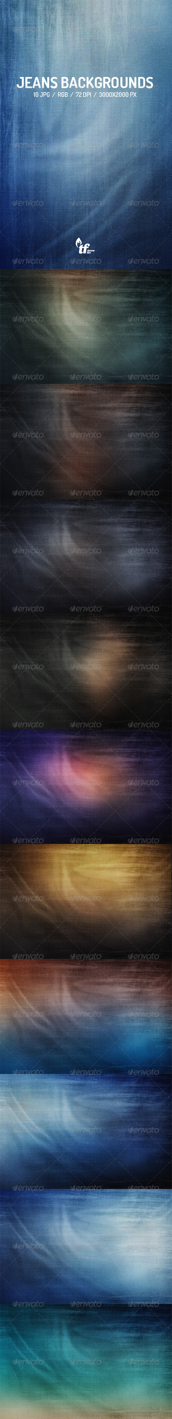 GraphicRiver Jeans Backgrounds 7571320