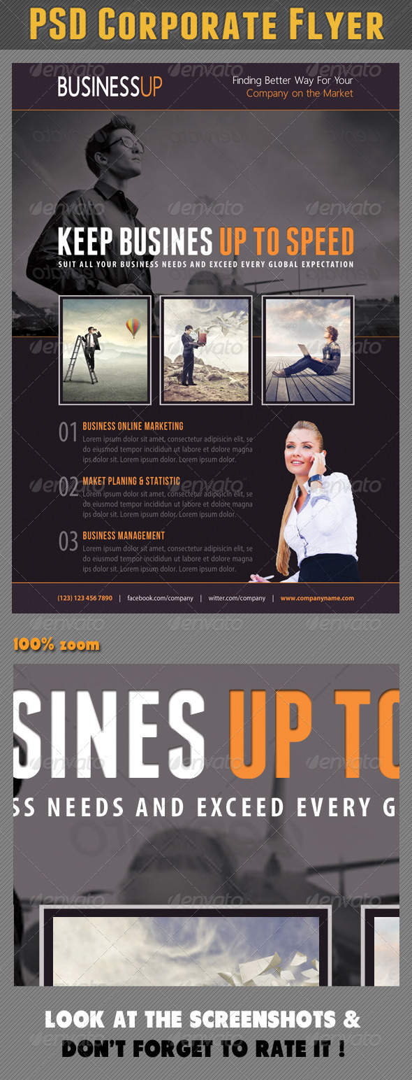 GraphicRiver Corporate Product Flyer 86 7571706
