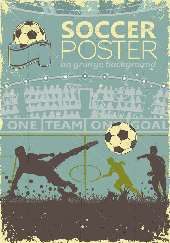 GraphicRiver Soccer Poster 7572114