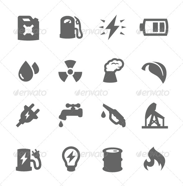 GraphicRiver Energy Icons 7573467