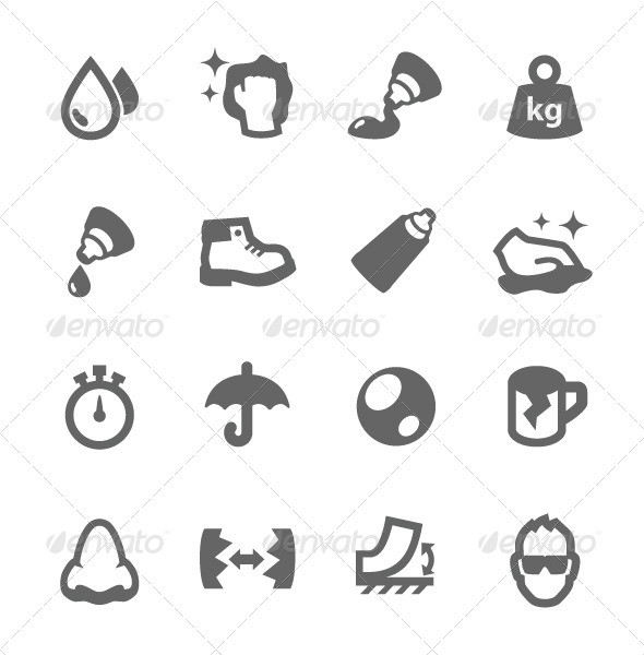 GraphicRiver Glue Icons 7573593