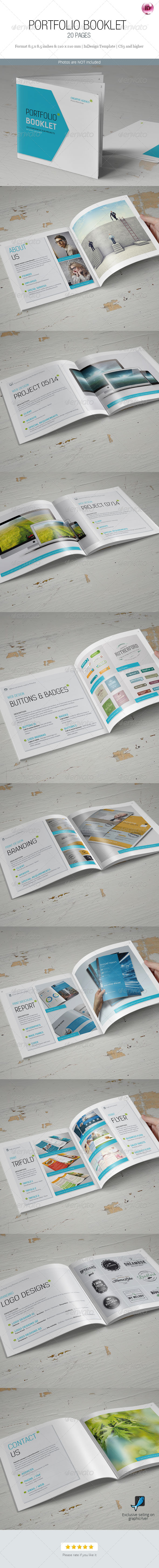 GraphicRiver Portfolio Booklet 7573685