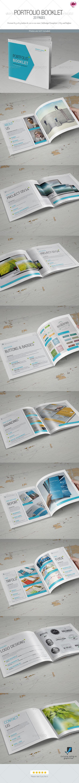 GraphicRiver Portfolio Booklet 7573685