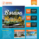 Travel Agency Corporate Flyer 12 - GraphicRiver Item for Sale