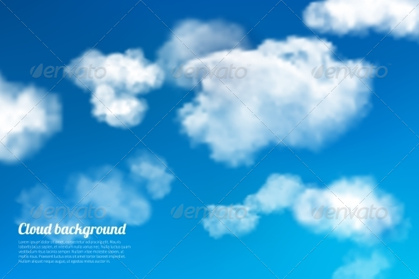 GraphicRiver Sky Clouds Background 7573801