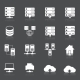 Hosting Network Icons - GraphicRiver Item for Sale
