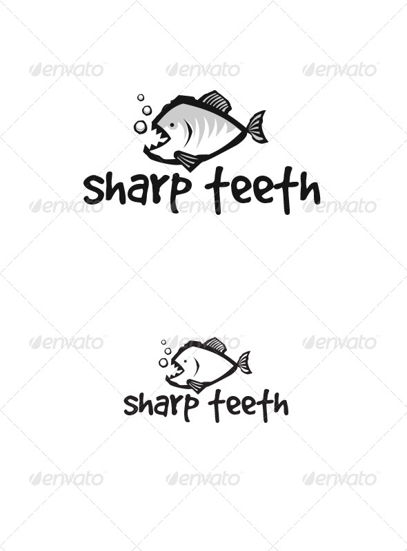 GraphicRiver Sharp Teeth 7573950