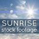 Sunrise - Sky and Clouds Footage - VideoHive Item for Sale