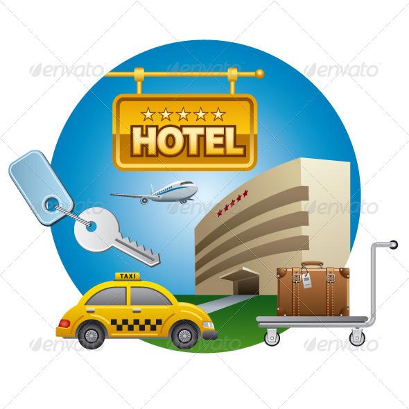 GraphicRiver Hotel Service 7574590