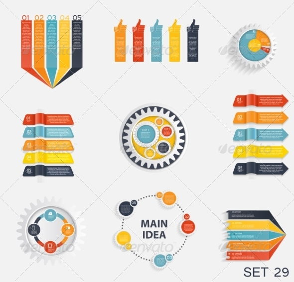 GraphicRiver Collection of Infographic Templates 7575915