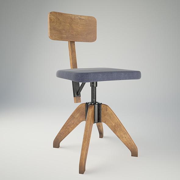 3DOcean Classic Chair 7576597