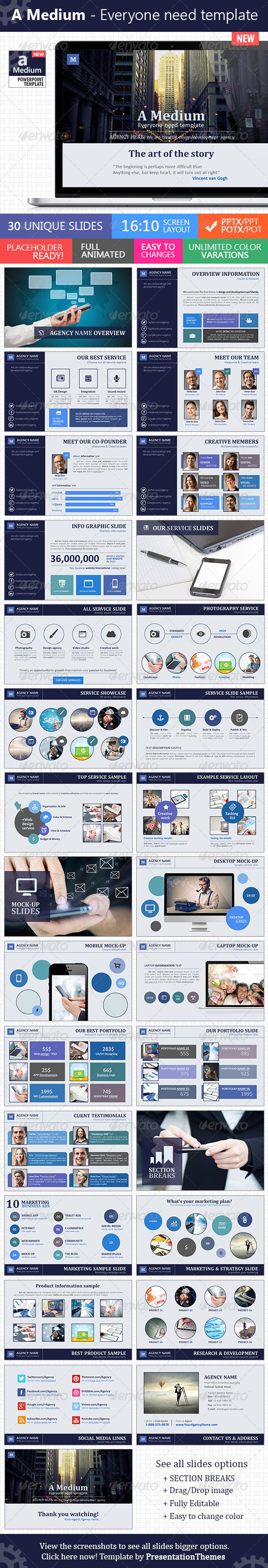 GraphicRiver A Medium Everyone need template 7525022