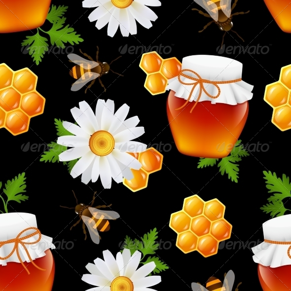 GraphicRiver Honey Pattern 7576901