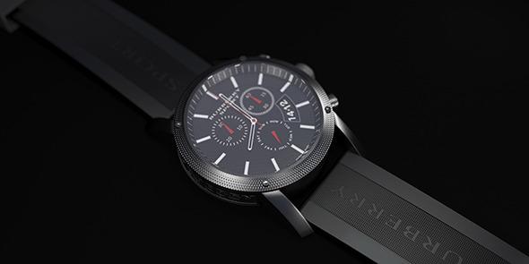 3DOcean Sport Clock 7577283