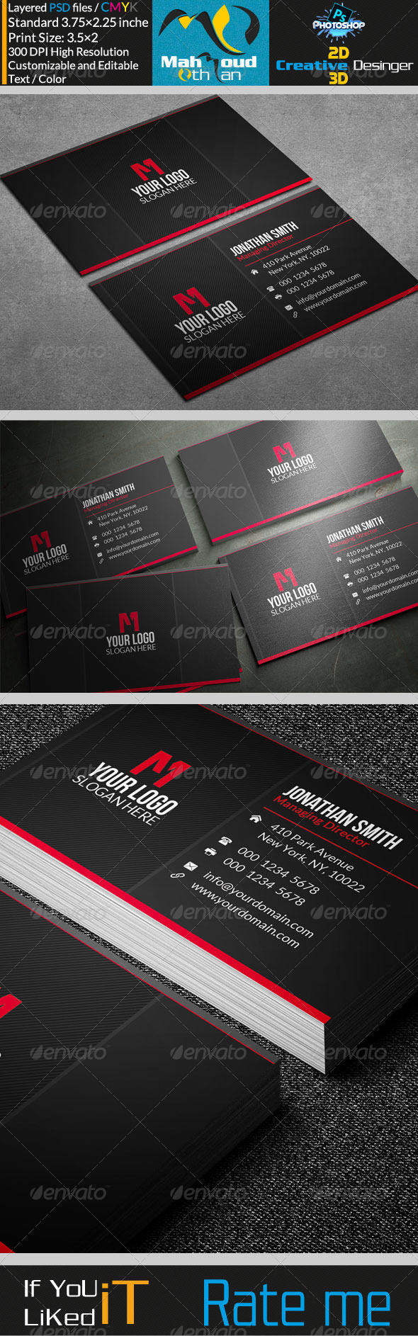 GraphicRiver Corportae Business Card V20 7579853