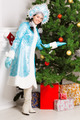 Cheerful snow maiden - PhotoDune Item for Sale