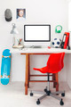 Desk in a child's bedroom. - PhotoDune Item for Sale