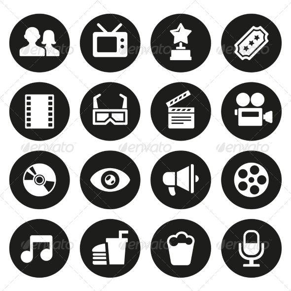 GraphicRiver Movie Icons Set 7580639