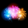 Bright Fireworks Display - PhotoDune Item for Sale