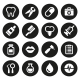Dental Icons Set - GraphicRiver Item for Sale