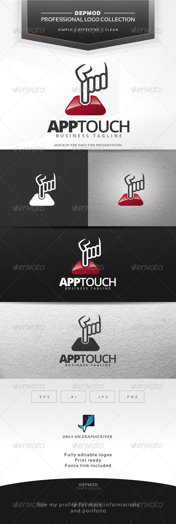 GraphicRiver App Touch Logo 7581162