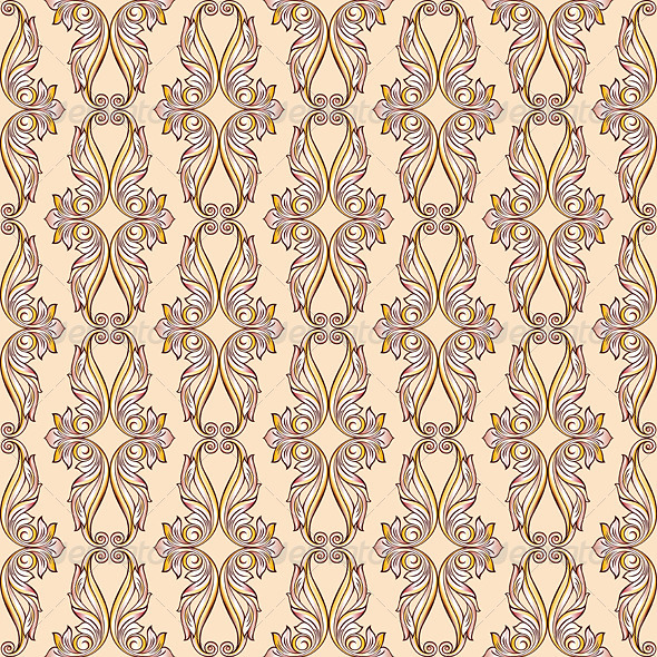 GraphicRiver Seamless Floral Pattern 7582744