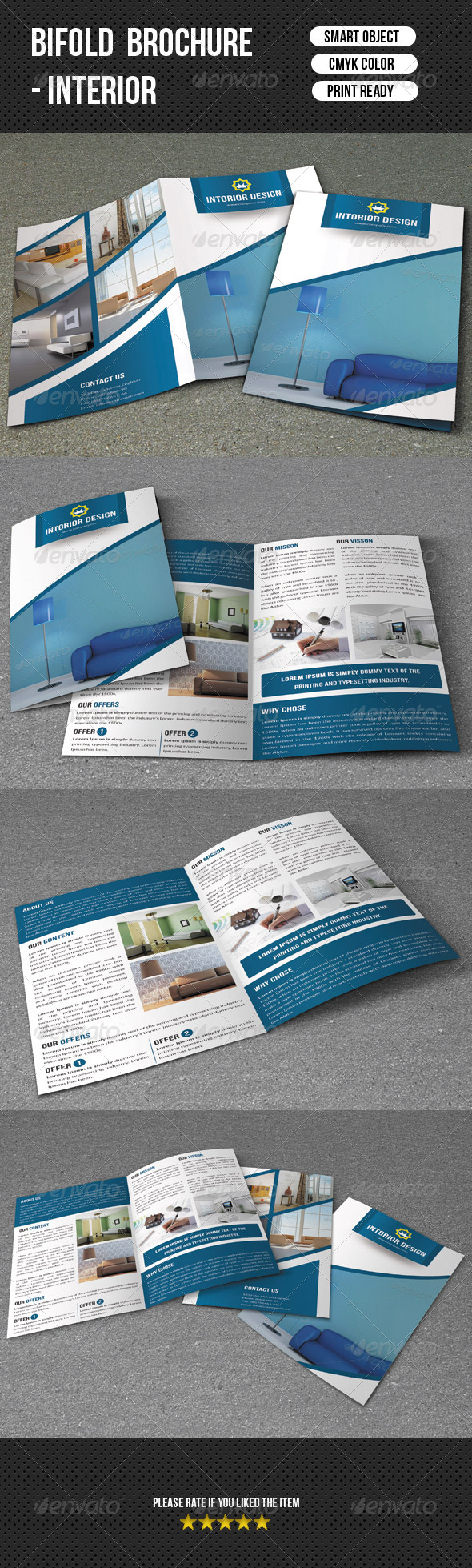 GraphicRiver Interior Brochure Template 7582856