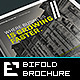 Corporate Bifold Brochure Xcross / A4 & US Letter - GraphicRiver Item for Sale