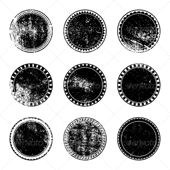GraphicRiver Grunge Stamp Set 7584740
