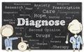 Diagnose on Blackboard - PhotoDune Item for Sale