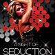 Music/Dance Night Seduction Party Flyer - GraphicRiver Item for Sale