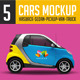 Cars Mock Up V1 - GraphicRiver Item for Sale