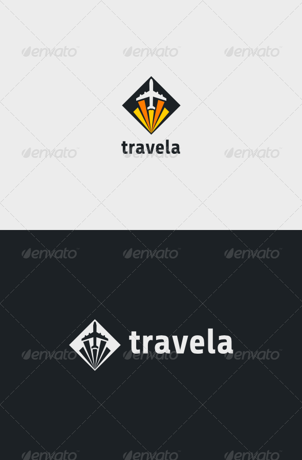 GraphicRiver Travela Logo 7588336