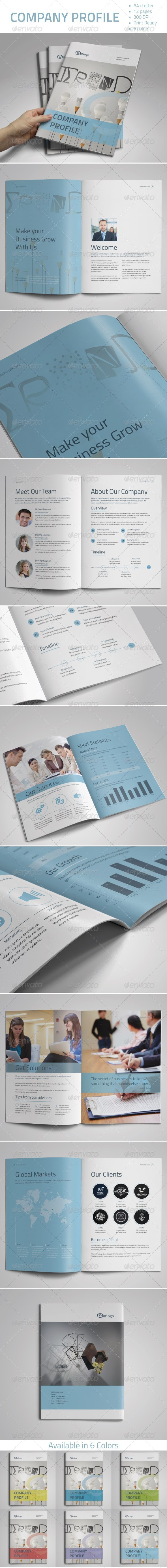 GraphicRiver Company Profile Vol.1 7588393
