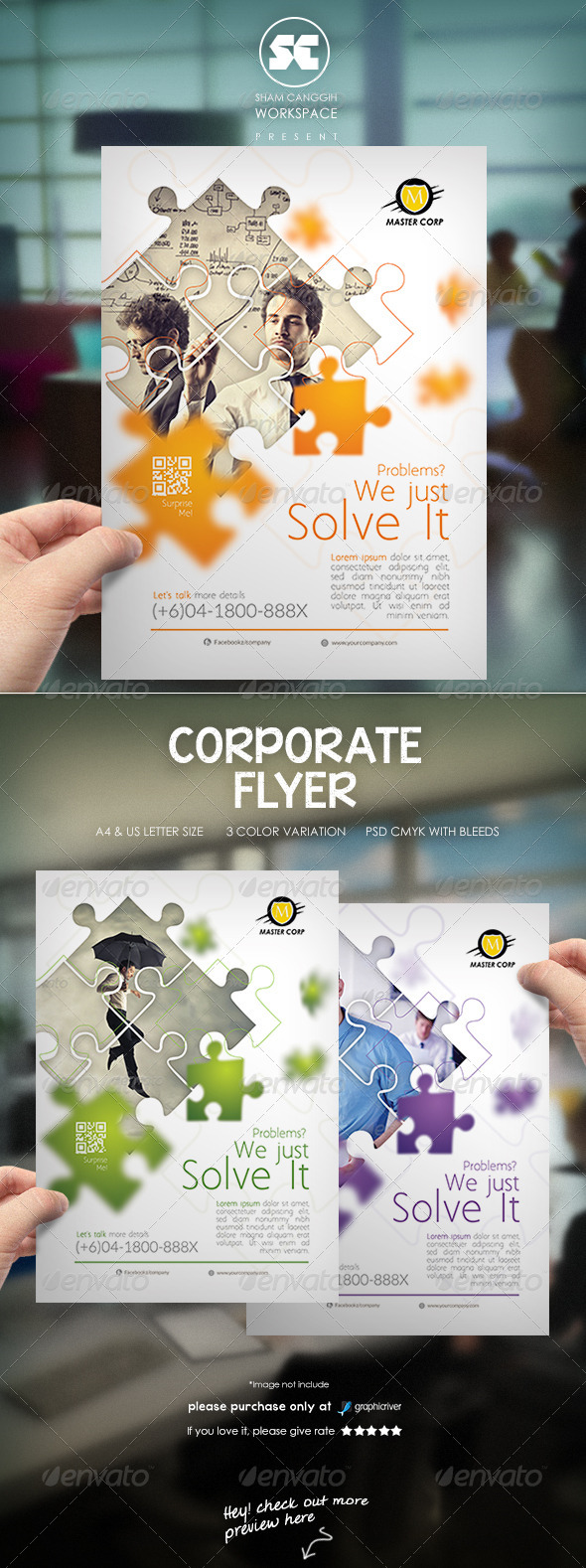 GraphicRiver Clean Modern Corporate Flyer Magazine Ads 7588920