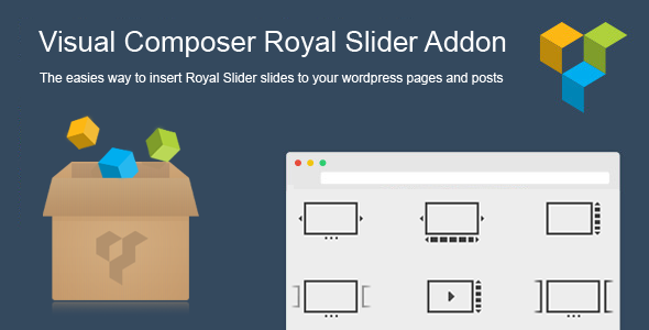 CodeCanyon Visual Composer Royal Slider Add-on 7589745